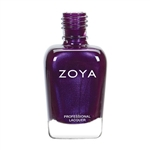 ZOYA Professional Nail Lacquer Hermina Pale Beige Metallic | Camphor Free Nail Polish, Safer Nail Enamels, Holistic Beauty Nail Care