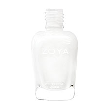 ZOYA Professional Nail Lacquer Purity Stark White Creme | Camphor Free Nail Polish, Safer Nail Enamels, Natural Make Up