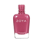 ZOYA Professional Nail Lacquer Hera Red Mauve Cream | Camphor Free Nail Polish, Safer Nail Enamels, Natural Make Up