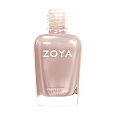 ZOYA Professional Nail Lacquer Shay Flesh Pearl Creme | Camphor Free Nail Polish, Safer Nail Enamels, Natural Make Up