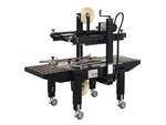 "800-20 CASE SEALER, UNIFORM, TOP & BOTTOM BELT DRIVE, 2"" TAPE HEADS"