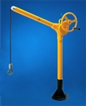 SKY HOOK W/BOLT DOWN BASE, HANDCRANK LIFT W/360 SWIVEL, 500#