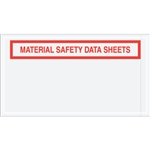 "5 1/2"" x 10"" ""Material Safety Data Sheets"" Envelopes 1000/Case"