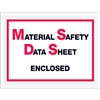 "6 1/2"" x 5"" ""Material Safety Data Sheet Enclosed"" Envelopes 1000/Case"
