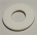 "WHITE PLASTIC WASHER, 5/16"" ID X 3/4"" OD, 50 PER BOX"