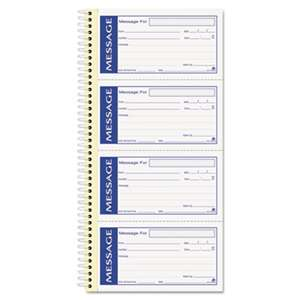 CARDINAL BRANDS INC. Write 'n Stick Phone Message Pad, 2 3/4 x 4 3/4, Two-Part Carbonless, 200 Forms