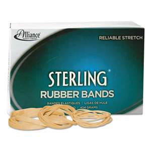ALLIANCE RUBBER Sterling Rubber Bands Rubber Bands, 8, 7/8 x 1/16, 7100 Bands/1lb Box