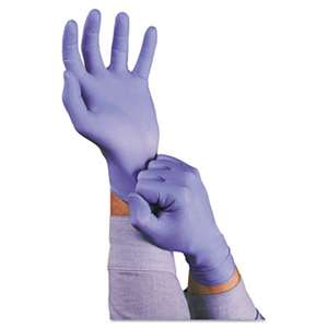 ANSELL LIMITED TNT Disposable Nitrile Gloves, Non-powdered, Blue, Medium, 100/Box