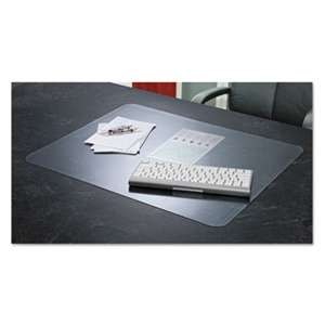ARTISTIC LLC KrystalView Desk Pad with Microban, 24 x 19, Matte, Clear