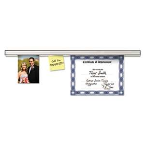 ADVANTUS CORPORATION Grip-A-Strip Display Rail, 48 x 1 1/2, Aluminum Finish