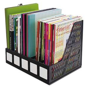 ADVANTUS CORPORATION Literature File, Five Slots, Black
