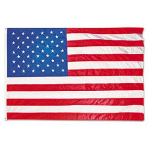 ADVANTUS CORPORATION All-Weather Outdoor U.S. Flag, Heavyweight Nylon, 5 ft x 8 ft