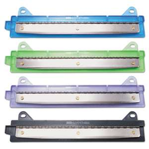 "MCGILL METAL PRODUCTS CO. 6-Sheet Binder Three-Hole Punch, 1/4"" Holes, Assorted Colors"