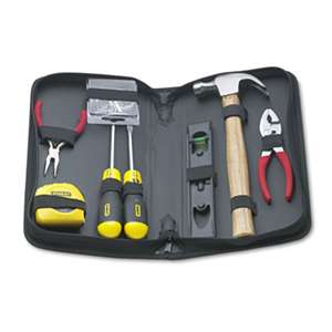 STANLEY BOSTITCH General Repair 8 Piece Tool Kit in Water-Resistant Black Zippered Case