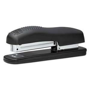 STANLEY BOSTITCH Ergonomic Desktop Stapler, 20-Sheet Capacity, Black