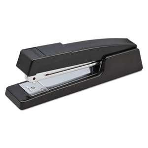 STANLEY BOSTITCH B440 Executive Half Strip Stapler, 20-Sheet Capacity, Black