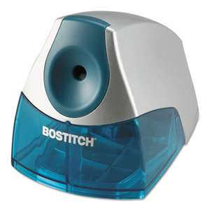 STANLEY BOSTITCH Personal Electric Pencil Sharpener, Blue