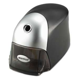 STANLEY BOSTITCH QuietSharp Executive Electric Pencil Sharpener, Black/Graphite
