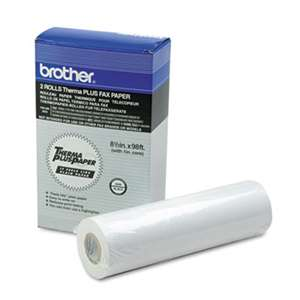 BROTHER INTL. CORP. 6890 ThermaPlus Paper Roll, 98 ft Roll, 2/Pack