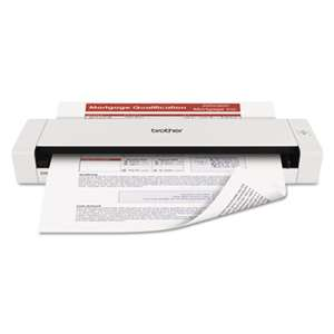 BROTHER INTL. CORP. DS720D Mobile Scanner with Duplex, 600 x 600 dpi