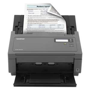 BROTHER INTL. CORP. Workhorse PDS-5000 High-Volume Color Desktop Scanner w/Duplex, 600 x 600 dpi