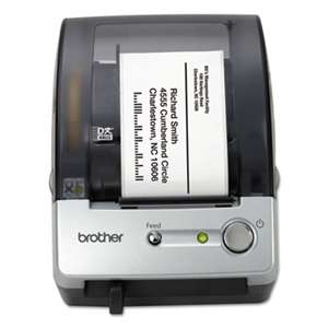 "BROTHER INTL. CORP. QL-500 Affordable Label Printer, 50 Labels/Min, 5-7/10""w x 6""d x 7-4/5""h"