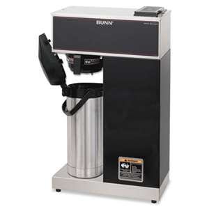 BUNN-O-MATIC VPR-APS Pourover Thermal Coffee Brewer with 2.2L Airpot, Stainless Steel, Black