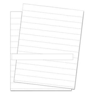 BI-SILQUE VISUAL COMMUNICATION PRODUCTS INC Data Card Replacement Sheet, 8 1/2 x 11 Sheets, White, 10/PK