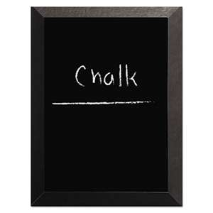 BI-SILQUE VISUAL COMMUNICATION PRODUCTS INC Kamashi Chalk Board, 48 x 36, Black Frame