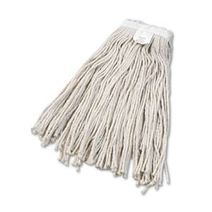 BOARDWALK Cut-End Wet Mop Head, Cotton, No. 24, White