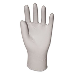 BOARDWALK Exam Vinyl Gloves, Powder/Latex-Free, 3 3/5 mil, Clear, Small, 100/Box
