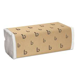 BOARDWALK C-Fold Paper Towels, Bleached White, 200 Sheets/Pack, 12 Packs/Carton