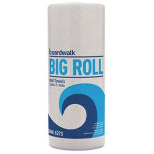 BOARDWALK Perforated Paper Towel Roll, 2-Ply, White, 11 x 8 1/2, 250/Roll, 12 Rolls/Carton