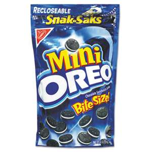 NABISCO FOOD GROUP Oreo Minis - Single Serve, 8 oz Snak Sak