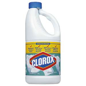 Clorox 30772 Concentrated Scented Bleach, Clean Linen, 64oz Bottle