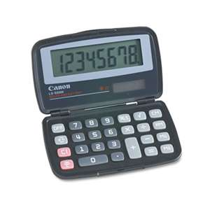 CANON USA, INC. LS555H Handheld Foldable Pocket Calculator, 8-Digit LCD