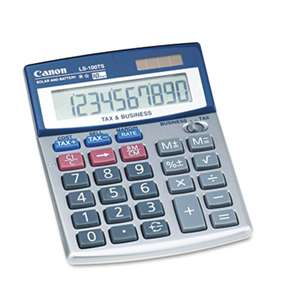 CANON USA, INC. LS-100TS Portable Business Calculator, 10-Digit LCD