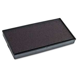 CONSOLIDATED STAMP Replacement Ink Pad for 2000PLUS 1SI20PGL, Black