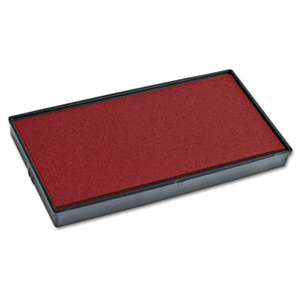 CONSOLIDATED STAMP Replacement Ink Pad for 2000PLUS 1SI20PGL, Red