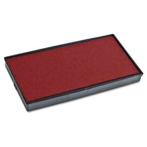 CONSOLIDATED STAMP Replacement Ink Pad for 2000PLUS 1SI30PGL, Red