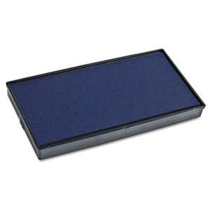 CONSOLIDATED STAMP Replacement Ink Pad for 2000PLUS 1SI40PGL & 1SI40P, Blue