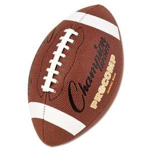 "CHAMPION SPORT Pro Composite Football, Junior Size, 20.75"", Brown"