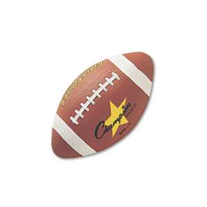 CHAMPION SPORT Rubber Sports Ball, For Football, Intermediate Size, Brown