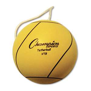 CHAMPION SPORT Tether Ball, Playground Size, Optic Yellow
