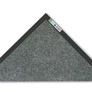 CROWN MATS & MATTING EcoStep Mat, 36 x 120, Charcoal