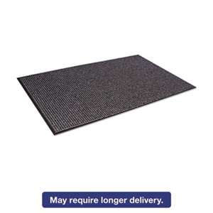 CROWN MATS & MATTING Oxford Wiper Mat, 36 x 60, Black/Gray