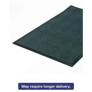 CROWN MATS & MATTING Super-Soaker Diamond Mat, Polypropylene, 34 x 58, Slate