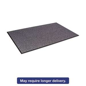 CROWN MATS & MATTING Walk-A-Way Indoor Wiper Mat, Olefin, 48 x 72, Gray