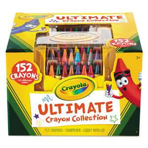 BINNEY & SMITH / CRAYOLA Ultimate Crayon Case, Sharpener Caddy, 152 Colors