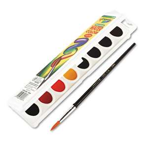 BINNEY & SMITH / CRAYOLA Watercolors, 8 Assorted Colors